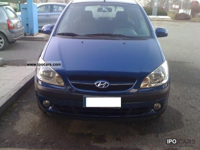 2006 hyundai getz 1 5 16v crdi vgt act 5 posti 3pt car photo and specs. Black Bedroom Furniture Sets. Home Design Ideas