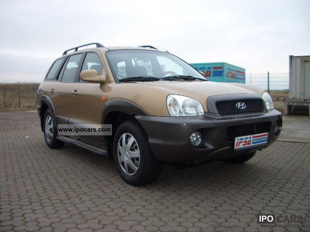 2001 Hyundai  Santa Fe 2.4 GLS 4WD air Off-road Vehicle/Pickup Truck Used vehicle photo