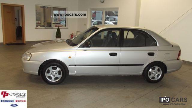 2002 hyundai accent 1 3i gls car photo and specs ipocars com