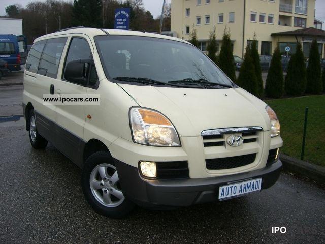 2004 Hyundai  H-1 Starex * automatic transmission * Air * NEW MODEL * Van / Minibus Used vehicle photo