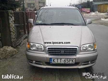 2003 Hyundai  Trajet Van / Minibus Used vehicle photo