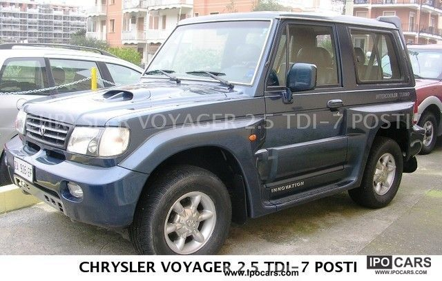 1999 Hyundai  2.5 TD 4 Posti p.l. INNOVATION Off-road Vehicle/Pickup Truck Used vehicle photo