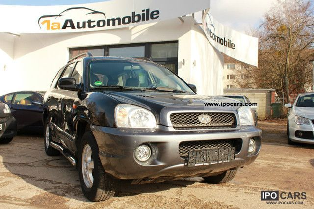 2003 Hyundai  Santa Fe 2.7 V6 GLS 4WD / leather / climate control Off-road Vehicle/Pickup Truck Used vehicle photo