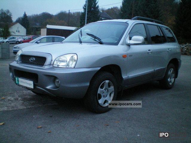 2003 Hyundai  Santa Fe 2.0 CRDi 2WD GLS Leather Klimatronic Off-road Vehicle/Pickup Truck Used vehicle photo