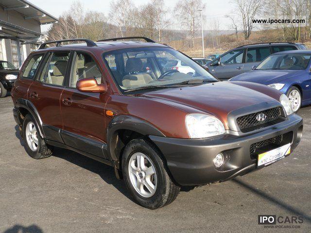 2000 Hyundai  Santa Fe 2.4 GLS (4WD) Off-road Vehicle/Pickup Truck Used vehicle photo