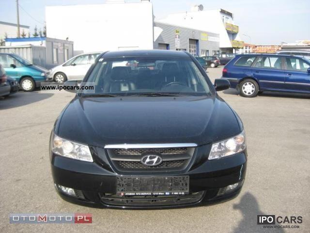 2007 Hyundai  Sonata 2.0 CRDi 130 TYS CZARNA Limousine Used vehicle photo