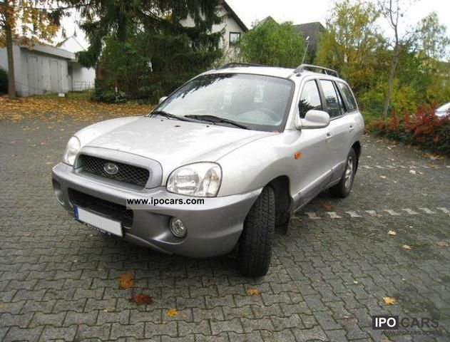 2003 Hyundai Santa Fe 2 4 2wd Edition Car Photo And Specs