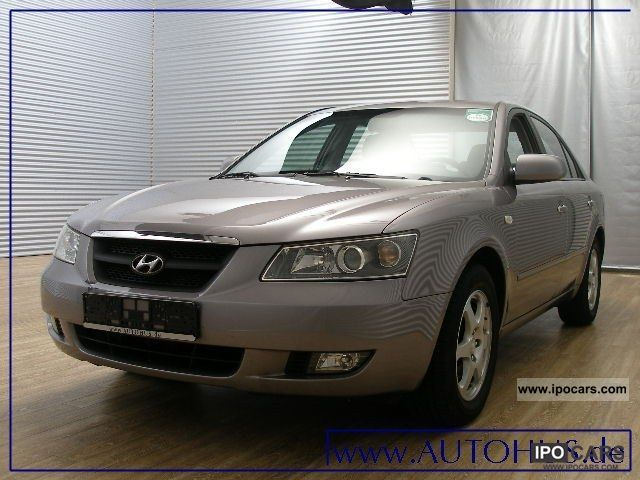 2007 Hyundai  Sonata 2.0 CRDi PDC cruise Limousine Used vehicle photo