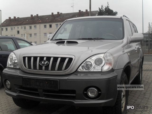 2004 Hyundai  Terracan 2.9 CRDi GLS + Edition Off-road Vehicle/Pickup Truck Used vehicle photo