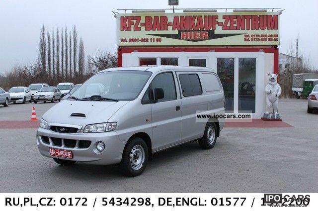 2003 Hyundai  H 1 SV CRDI * AIR *, 6-seater, 2.Hand! Van / Minibus Used vehicle photo