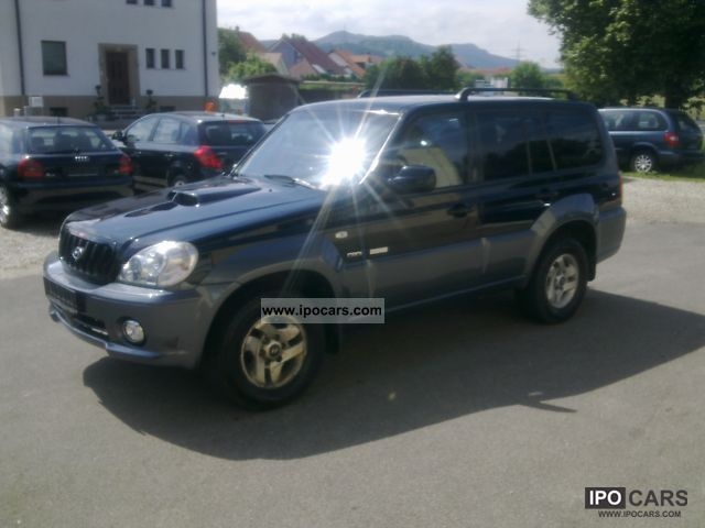 2004 Hyundai  Terracan 2.9 CRDi from 1 Hand! Off-road Vehicle/Pickup Truck Used vehicle photo