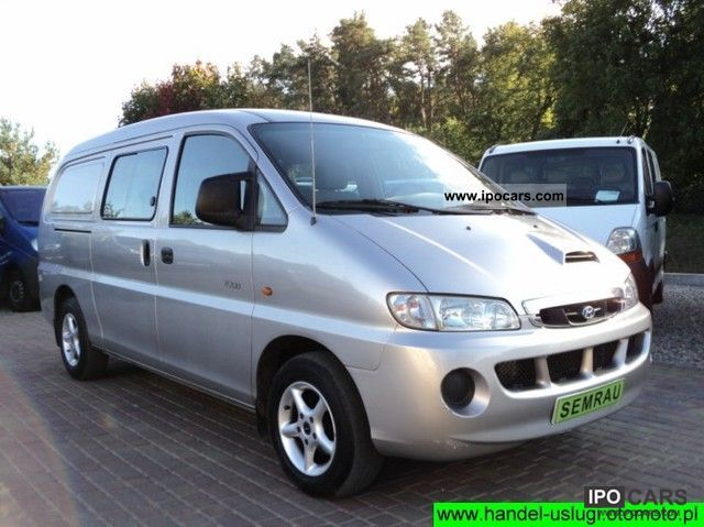 2004 Hyundai  H200 H-200 H 200 H 1 ^ ^ ^ ^ DOKA AIR Van / Minibus Used vehicle photo