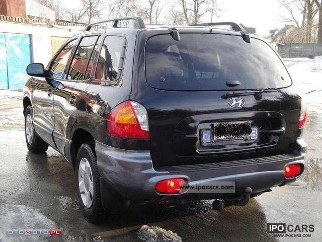 2003 Hyundai Santa Fe 2 0 Crdi 16v Air Skora Car Photo