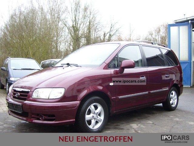 2005 Hyundai  Trajet 2.0 CRDi GLS * LEDER/7-SITZER/KLIMATRONIK * Van / Minibus Used vehicle photo