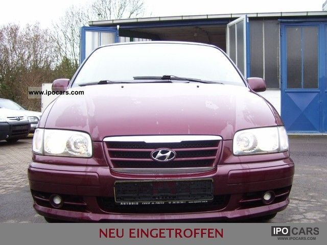 2005 hyundai trajet 2 0 crdi gls leder 7 sitzer klimatronik car photo and specs. Black Bedroom Furniture Sets. Home Design Ideas