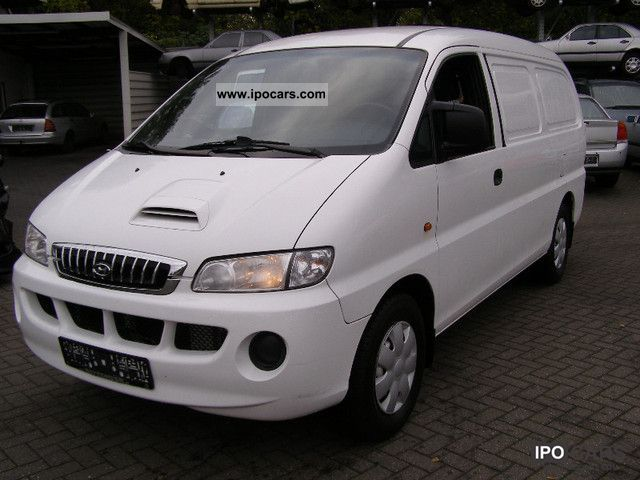 2004 Hyundai  H 2m-1. Double door 1 year warranty! Van / Minibus Used vehicle photo