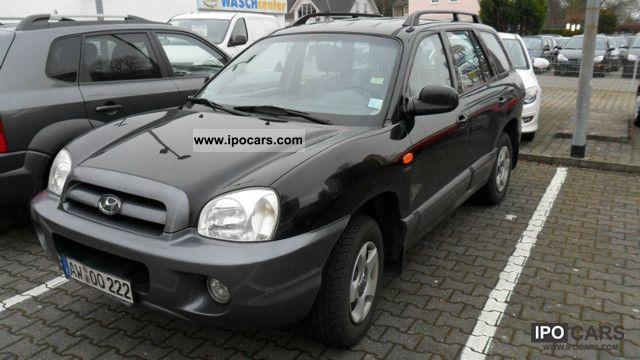 Hyundai  Santa Fe 2.4 2WD Team 06 2006 Liquefied Petroleum Gas Cars (LPG, GPL, propane) photo