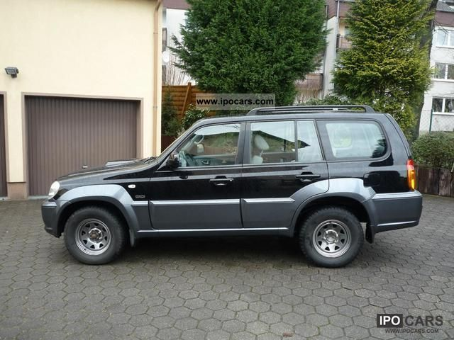 2004 Hyundai Terracan 2 9 Crdi Gls Car Photo And Specs