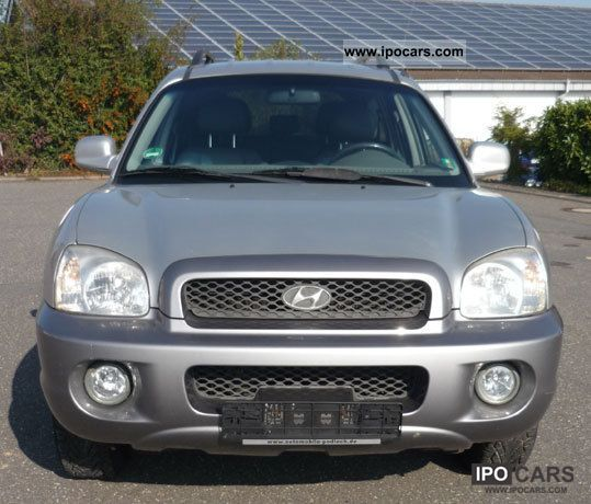 2003 hyundai santa fe 2 4 edition car photo and specs. Black Bedroom Furniture Sets. Home Design Ideas
