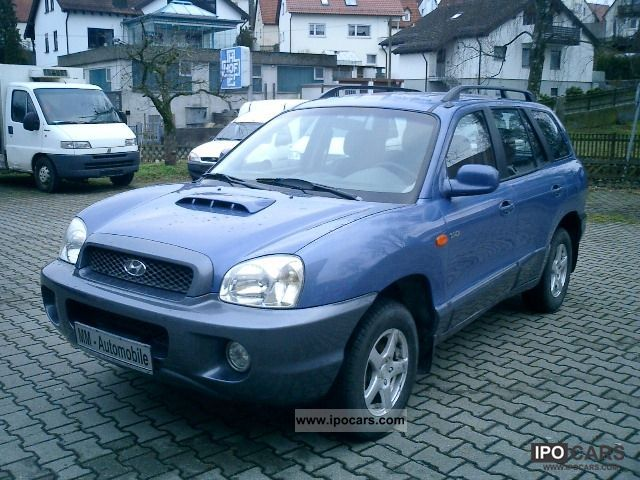 2003 Hyundai  Santa Fe 2.0 CRDi 2WD GLS / AHK / Air / Off-road Vehicle/Pickup Truck Used vehicle photo