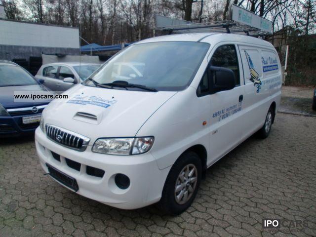 2005 Hyundai  HK H 1 2.5 CRDI * AHK * NAVI * 2 * HAND Van / Minibus Used vehicle photo