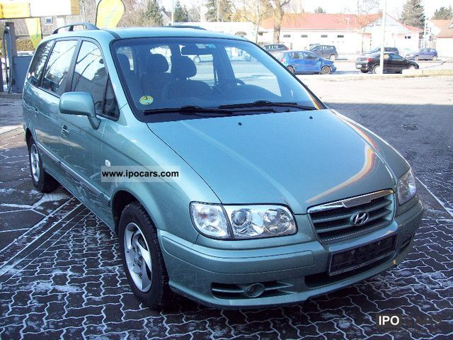 2005 Hyundai  Trajet 2.0 CRDi GLS Automatic 7.Sitzer Van / Minibus Used vehicle photo
