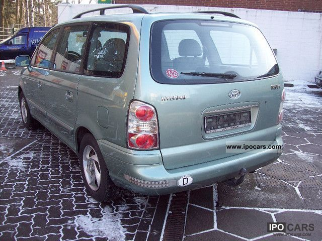 2005 hyundai trajet 2 0 crdi gls automatic 7 sitzer car. Black Bedroom Furniture Sets. Home Design Ideas