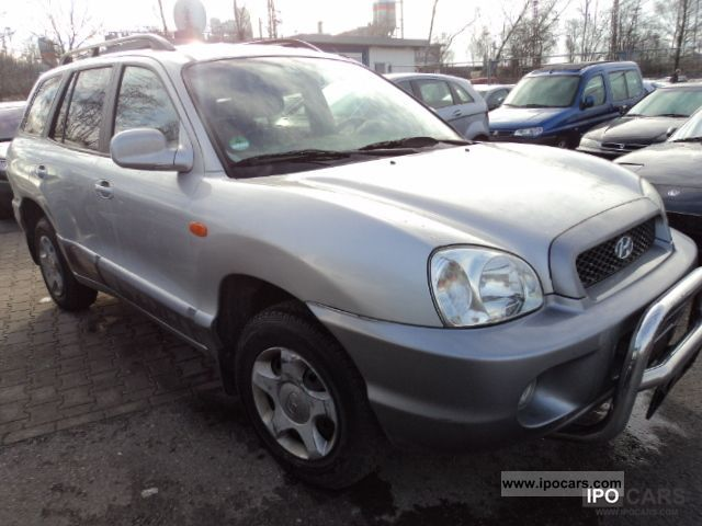 2004 Hyundai  Santa Fe Edition ** 2.4 ** D4 ** Full Leather 1-hand Off-road Vehicle/Pickup Truck Used vehicle photo