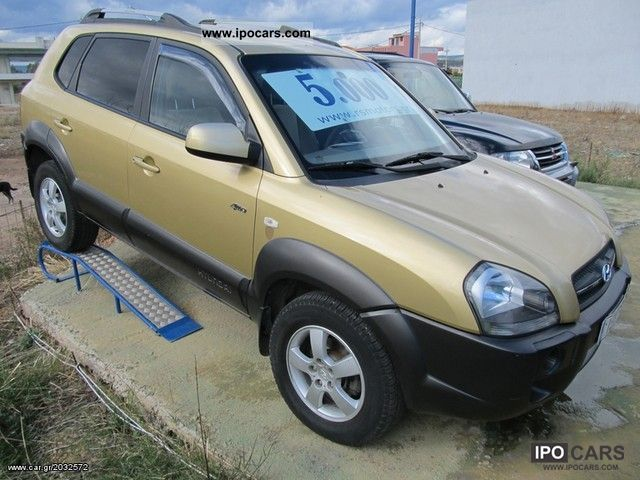 2005 Hyundai  Tucson GLS 2.0 4WD Off-road Vehicle/Pickup Truck Used vehicle photo