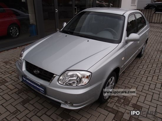 2006 Hyundai  Accent 1.3 GLS climate. Limousine Used vehicle photo