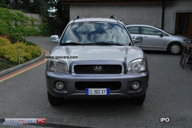 2004 Hyundai  Santa Fe 2.0 CDRI 4x4 SKORA climate control Off-road Vehicle/Pickup Truck Used vehicle photo