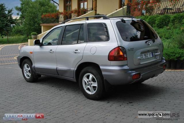2004 Hyundai Santa Fe 2 0 Cdri 4x4 Skora Climate Control Car Photo