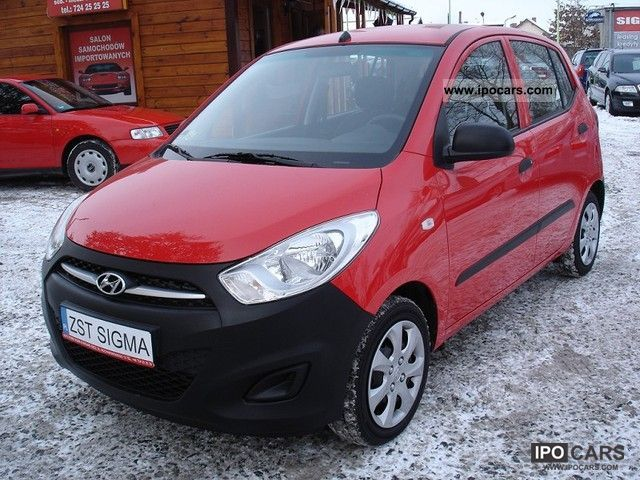 2011 Hyundai  i10 1.1 SERWIS * Z * Niemiec 7100KM Other Used vehicle photo