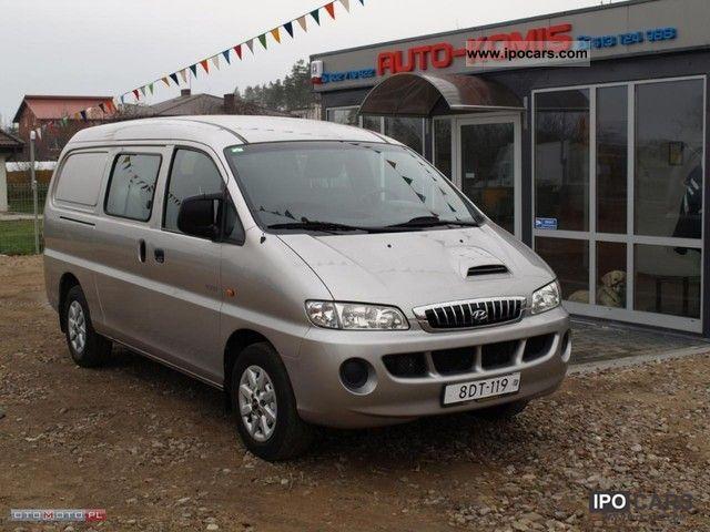 2004 Hyundai  H-1 STAREX 2.5TDI clima! Van / Minibus Used vehicle (business photo