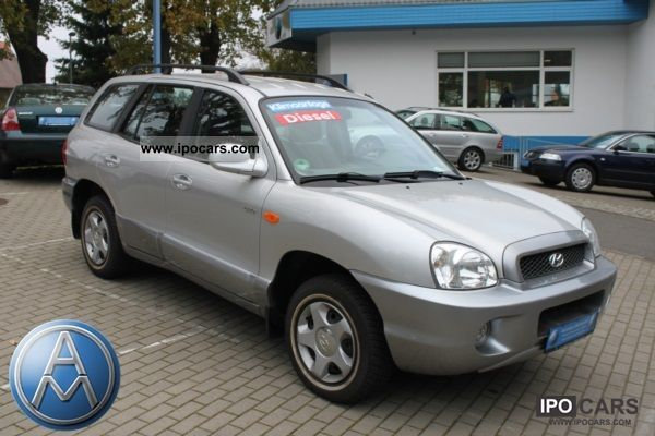 2003 Hyundai  Santa Fe 2.0 CRDi 2WD diesel particulate filter Off-road Vehicle/Pickup Truck Used vehicle 			(business photo