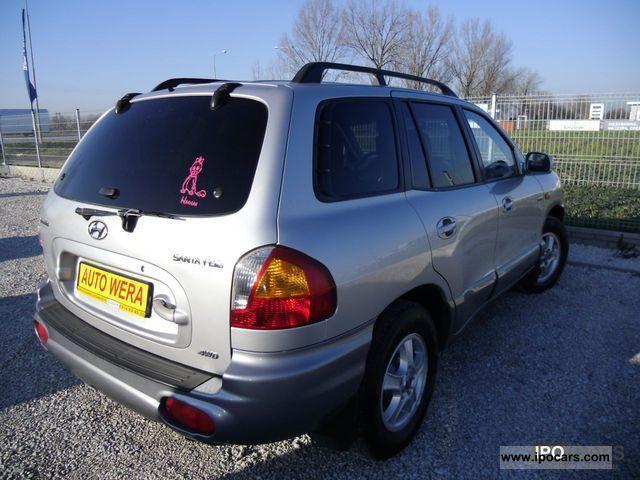 2003 Hyundai Santa Fe 4x4 Sk 243 Ra Aluminum Climate