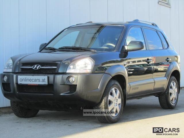 2004 Hyundai  Tucson 2.0 CRDi 4WD Style Off-road Vehicle/Pickup Truck Used vehicle photo