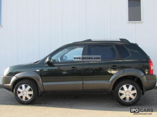 2004 Hyundai Tucson 2 0 Crdi 4wd Style Car Photo And Specs