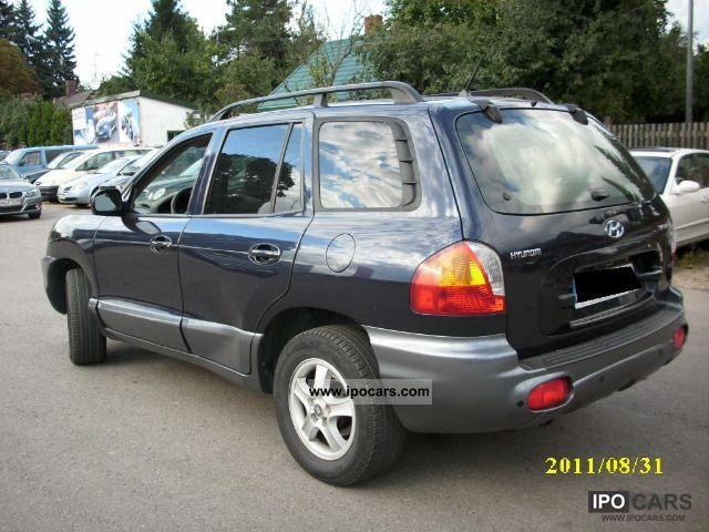 2004 Hyundai Santa Fe Car Photo And Specs