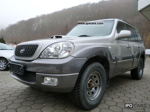 2005 Hyundai  Terracan 2.9 CRDi Team 06/1 Hand Off-road Vehicle/Pickup Truck Used vehicle photo