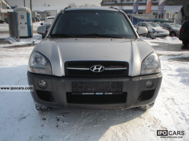 2005 Hyundai  Tucson 2.0 CRDi 4WD GLS Off-road Vehicle/Pickup Truck Used vehicle photo