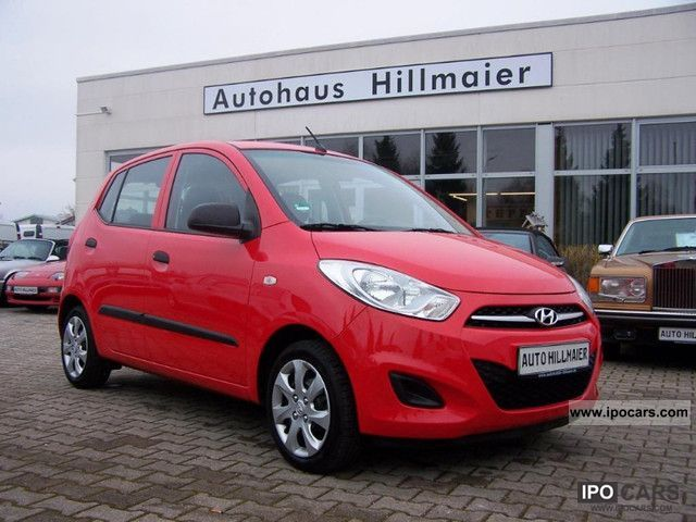 2011 Hyundai  i10 * 1.1 * EURO 5 ** Tax ** No re-import ** Small Car Used vehicle photo