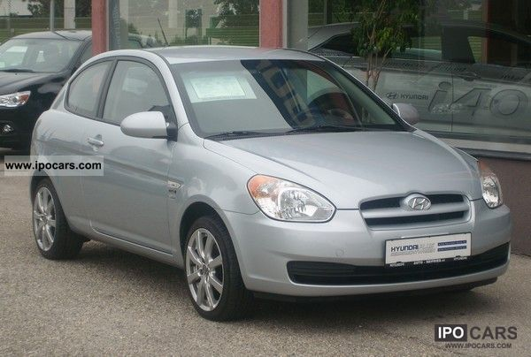2006 Hyundai  Accent 1.5 CRDi VGT diesel flair Cool Small Car Used vehicle photo