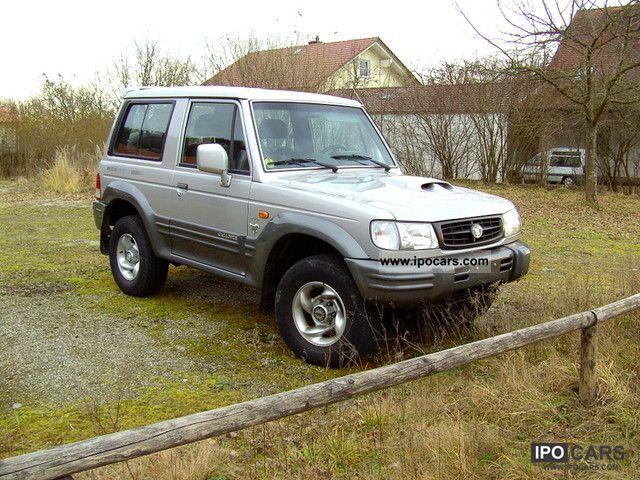 2002 Hyundai  Galloper Off-road Vehicle/Pickup Truck Used vehicle photo