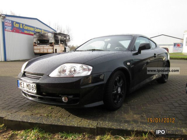 2004 hyundai coupe 2 0 gls car photo and specs. Black Bedroom Furniture Sets. Home Design Ideas