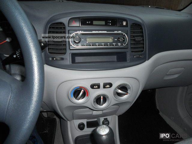 2007 Hyundai Accent Crdi Gls Car Photo And Specs