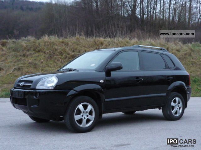 2007 Hyundai Tucson GLS 2.0 2WD - ESP / AIR / CD / CL Off-road Vehicle ...
