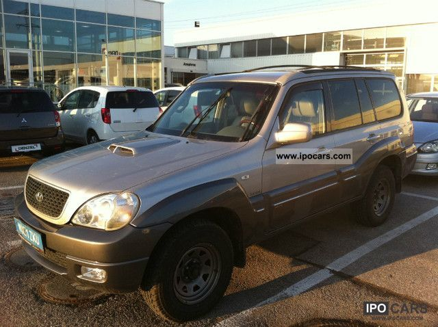 2005 Hyundai  Terracan 2.9 CRDi Automatic Off-road Vehicle/Pickup Truck Used vehicle photo