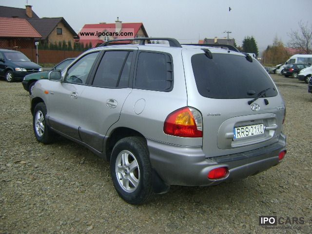 2003 hyundai santa fe car photo and specs. Black Bedroom Furniture Sets. Home Design Ideas