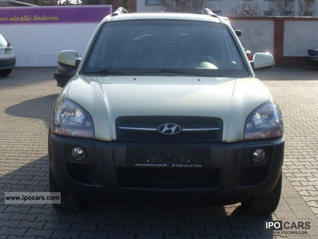 2005 Hyundai  Tucson 7.2 V6 4WD GLS with top facilities! Off-road Vehicle/Pickup Truck Used vehicle photo